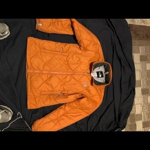Vintage the North face women's large puffer jacket